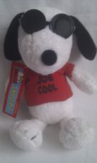 Adorable Rare My 1st 'Joe Cool Snoopy' Original Plush Toy BNWT